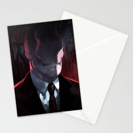 Slender Man Stationery Cards