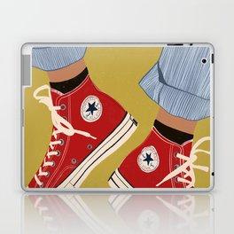 Red Converse Sweet Kicks Laptop & iPad Skin