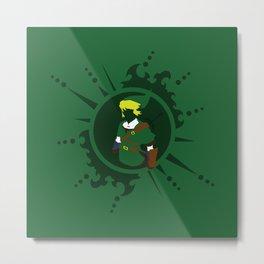 Link - Legend Of Zelda Metal Print