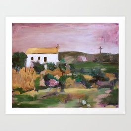 Villafranca Art Print