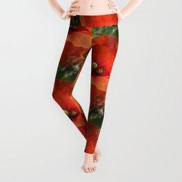 Poppy Power Leggings