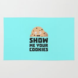Show me your Cookies T-Shirt for all Ages D9xqn Rug