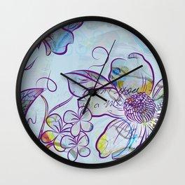 Merry Marsh Marigold Wall Clock