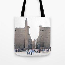 Temple of Luxor, no. 10 Tote Bag