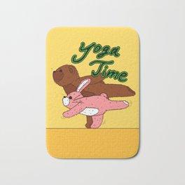 Yoga Time Bath Mat