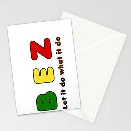 B E Z Stationery Cards