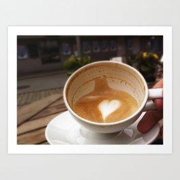 Coffee Love Art Print