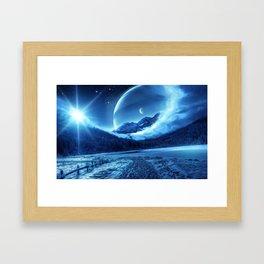 Universe Art Work Framed Art Print