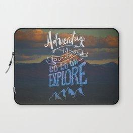 So Go On — Explore Laptop Sleeve