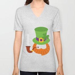 Funny St. Patrick's Day for Kids Boy Unisex V-Neck