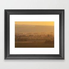 Looking To Oregon Framed Art Print