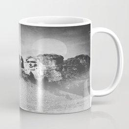 Rushmore at Night Coffee Mug