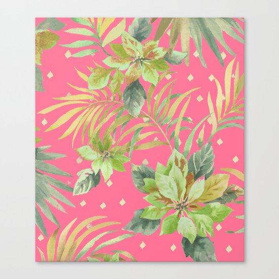 tropical summer warm Canvas Print