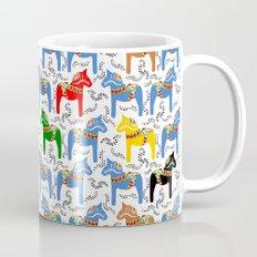Dala Horse pattern Coffee Mug