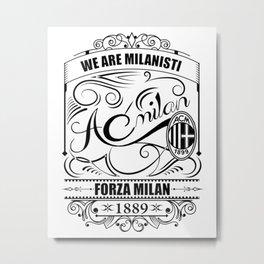 ac milan Metal Print