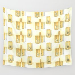 Pop Art radios Wall Tapestry