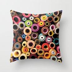 reel Throw Pillow