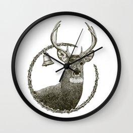 Sawdust & Diamonds Wall Clock