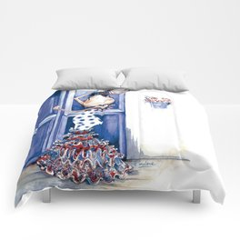 Flamenca Blue Comforters