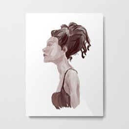 Chillin. Metal Print