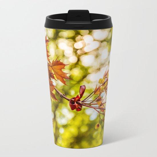 Maple blooms Metal Travel Mug