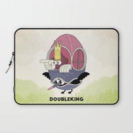 DOUBLE KING: Ovum Regia Laptop Sleeve