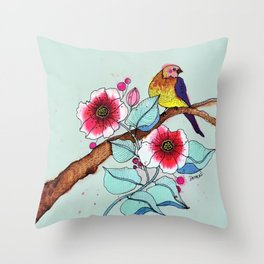 le voyageur Throw Pillow