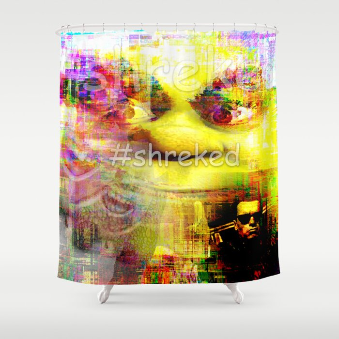 Shreked Shower Curtain By Cooldogs