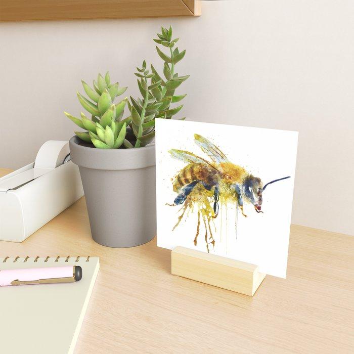 Watercolor Bee Mini Art Print