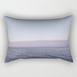 Calm sea before sunrise Rectangular Pillow