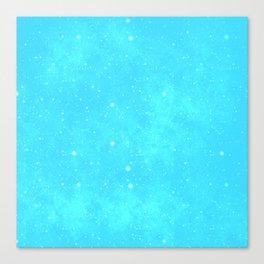 Starlit blue Canvas Print