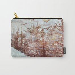 Tossed by the Wind metallic watercolour by CheyAnne Sexton Carry-All Pouch