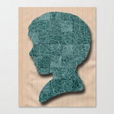Boy Silhouette Canvas Print