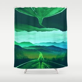 Proof of Existence Shower Curtain
