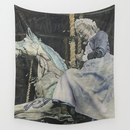 Time Story:  Storyboard VI Wall Tapestry