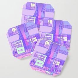 Pastel Tokyo Cats Coaster