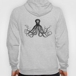 Octopus | Black and White Hoody