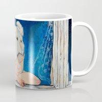 dreamer Mugs featuring Dreamer by Zina Nedelcheva