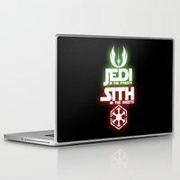 jedi Laptop & iPad Skins featuring Jedi by Liquidsugar