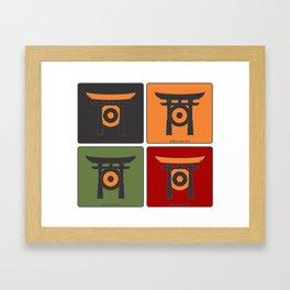 jap[ojo]ón Framed Art Print