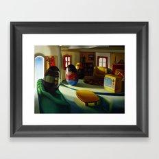 Weeburbia Framed Art Print