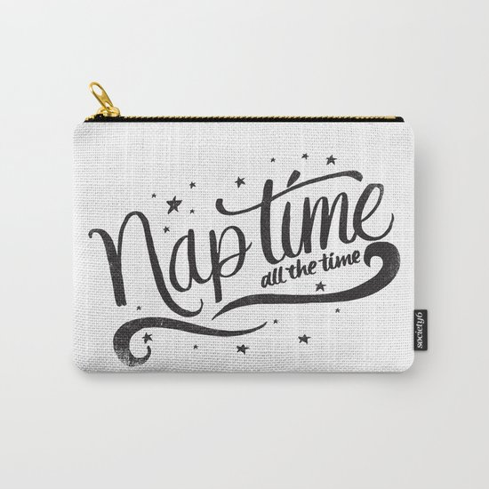 Nap time all the time Carry-All Pouch