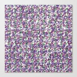 Mixed colors digital glitter texture print Canvas Print