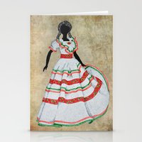 mexico Stationery Cards featuring Mexico by Dany Delarbre
