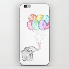 Party Elephant iPhone & iPod Skin