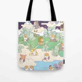 Bubu Horoscope Land Tote Bag