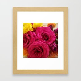 Flowers for Belle Framed Art Print