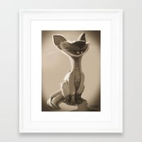 waldo Framed Art Prints featuring Waldo by Crit·ter