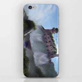 Mansion on a Waterfall iPhone Skin