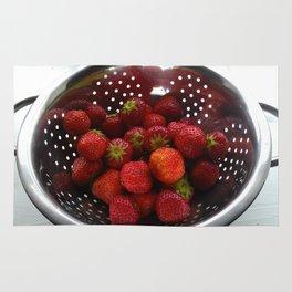 Sweet Strawberries Rug